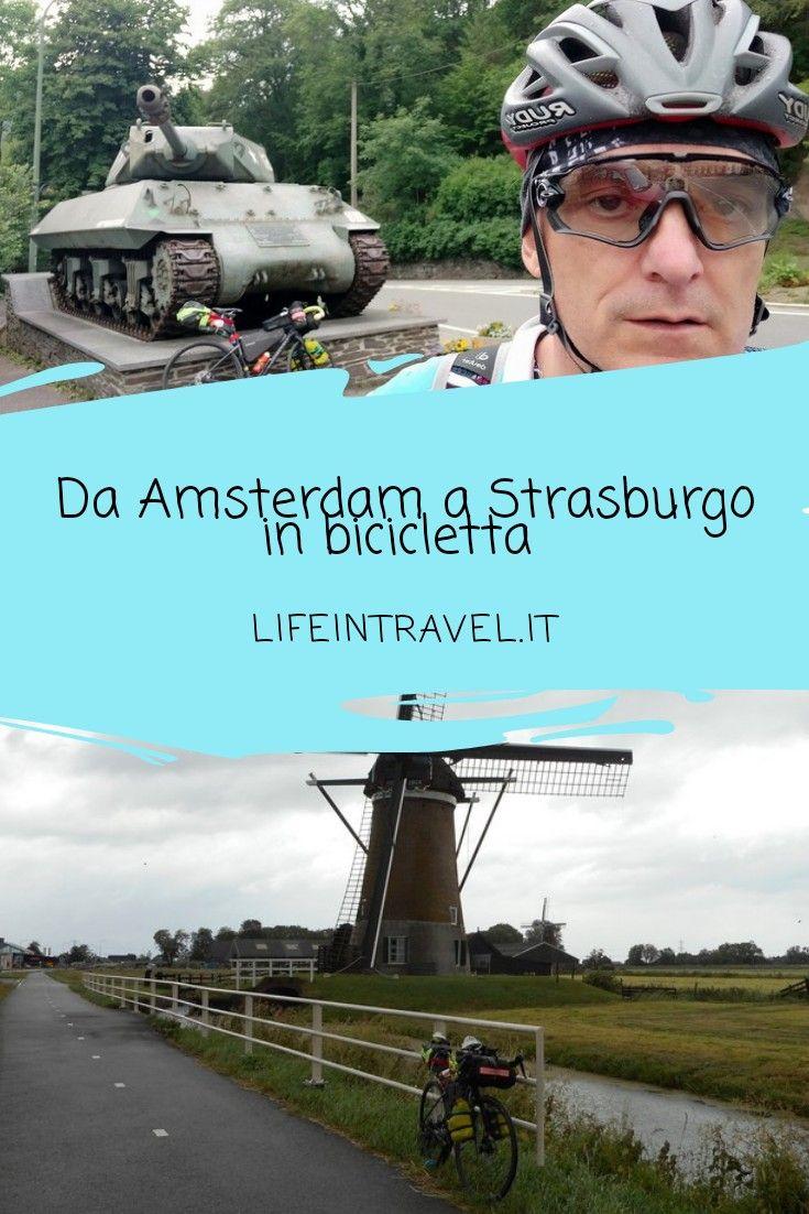 Viaggio in bicicletta da Amsterdam a Strasburgo attraverso 5 nazioni europee✨ …