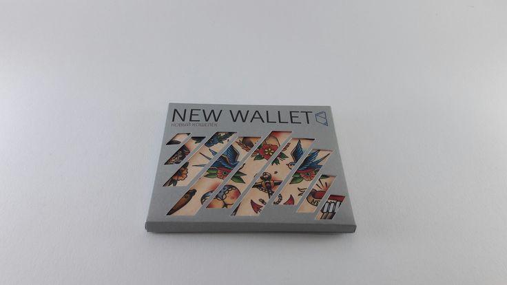 New tattoo slim wallet