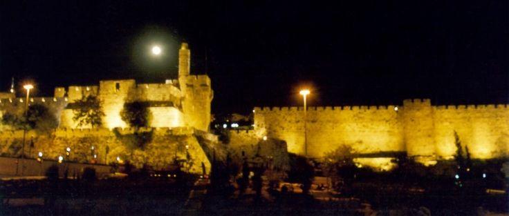 Jerusalem de noche