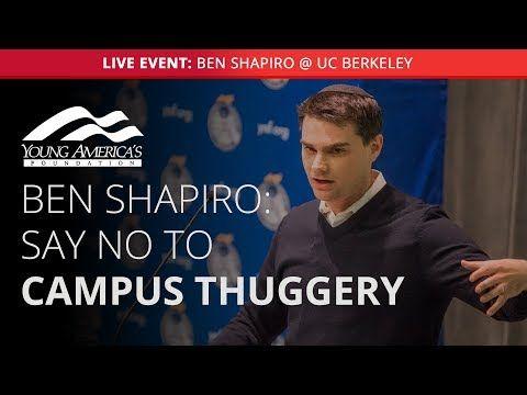 LIVESTREAM of Ben Shapiro Speaking at UC-Berkeley