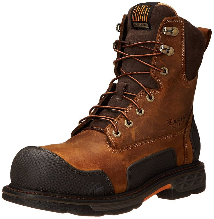 Ariat Men's Overdrive XTR 8' Steel Toe Work Boot >>> Wow! I love this. Check it out now! : Boots for men
