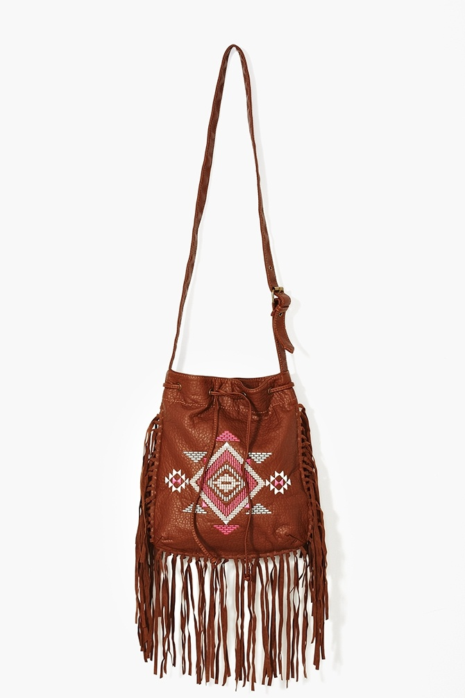 Aztec Fringe Bag
