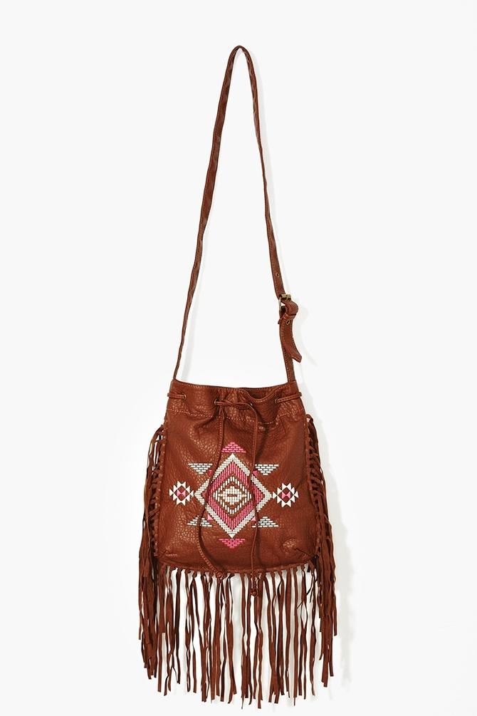 Aztec Fringe Bag