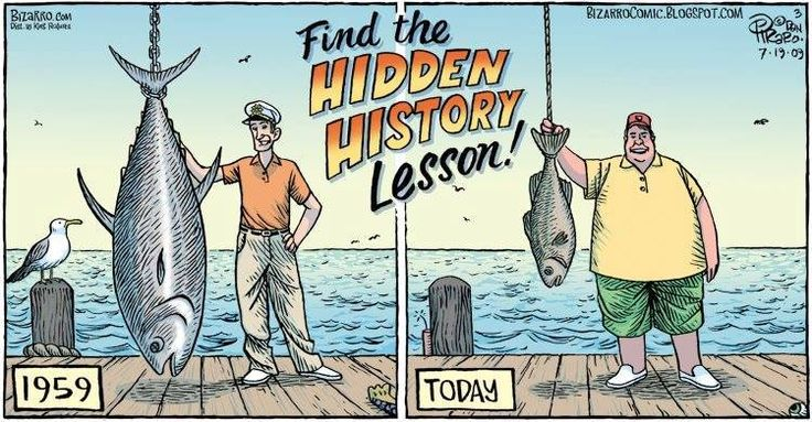 Fishing then & now