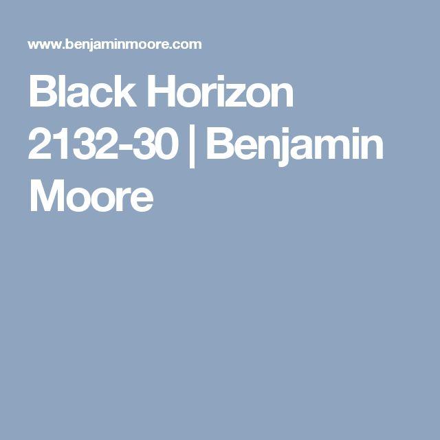 Black Horizon 2132-30 | Benjamin Moore