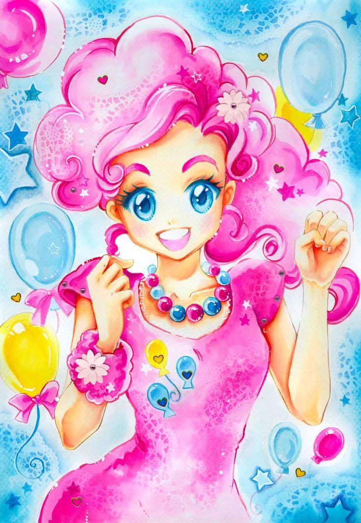 My little Pony: Pinkie Pie by Naschi.deviantart.com on @deviantART