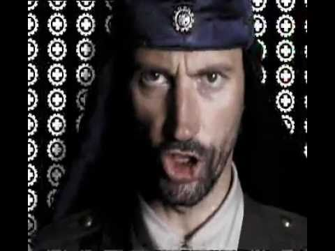 "Laibach  lololol no clue if you even know who Laibach is... They've been around about as long as I have. Awesomely weird art band from Slovenia, whose name was banned there for some time (""Laibach"" is German for Ljubljana). From like 15 years prior: https://youtu.be/OC73Os9NmZE"