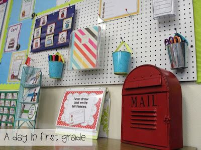 Classroom Pictures!!-- love this writing center!!