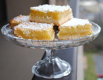 Невыразимая легкость кулинарного бытия...: Американские лимонные пирожные