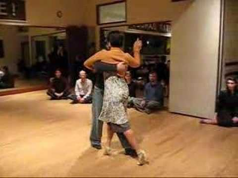 Tango Lesson: Syncopated Snake Walk + Sustained Volcada