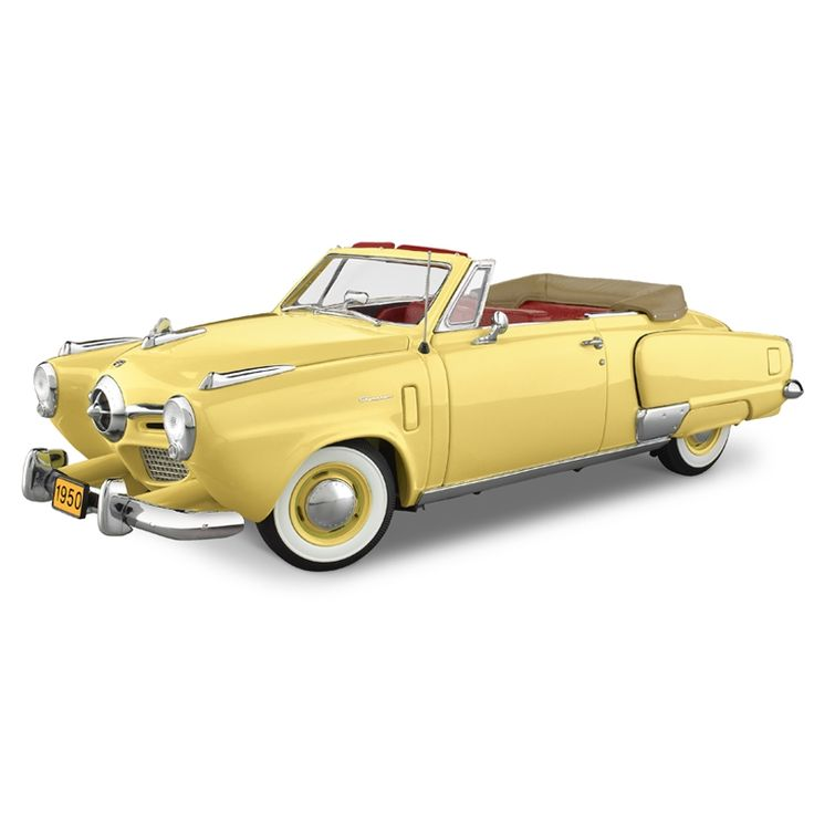 This is my dream car!!!! It's a 1950 Studebaker Convertible, I want it in a …