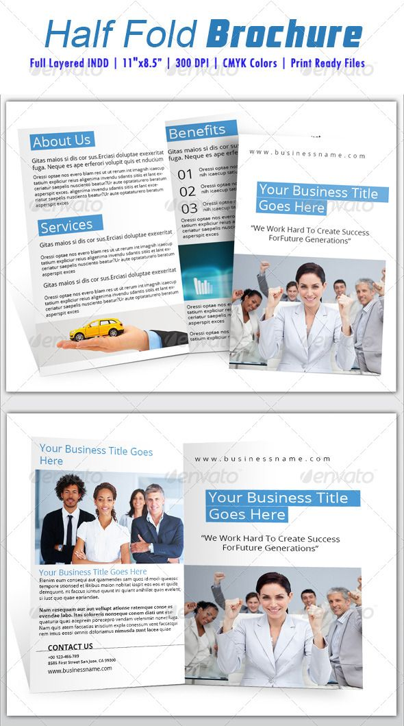 half fold brochure template free - 17 best images about print templates on pinterest fonts