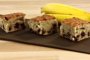 Banan kage (med chokolade stykker) 4