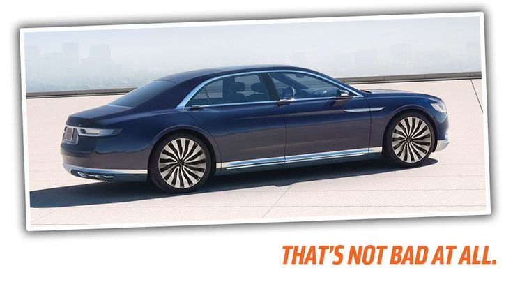 Considering the dramatic rebirth Ford has undergone in the last decade, Lincoln's comparative lack of direction is pretty surprising. Maybe, though, this new Lincoln Continental Concept represents the re-discovery of something Lincoln's so desperately needed: an identity.