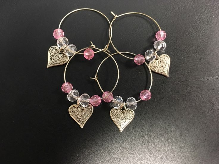 A personal favorite from my Etsy shop https://www.etsy.com/listing/468618006/hearts-of-love-wine-charms