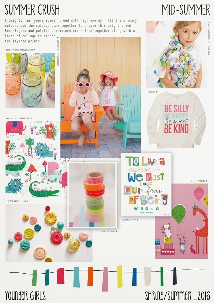 Emily Kiddy: Spring/Summer 2016 - Younger Girls Fashion - Summe...