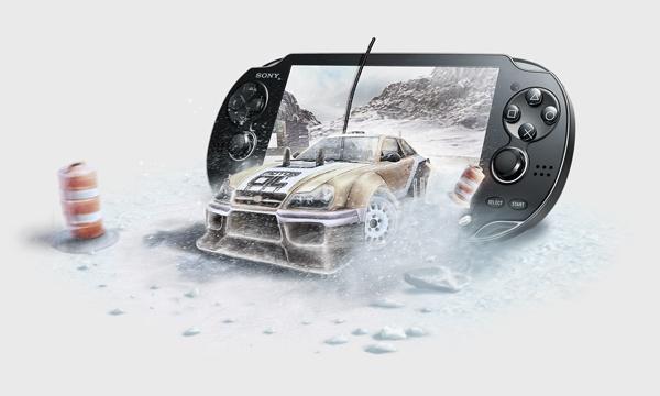 PLAY Mobile - PSP Vita (poster and leaflet) by Marcin Kowalski, via Behance