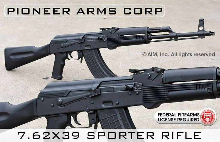 Pioneer Arms Corp Sporter AK 7.62x39 Rifle. New Polish made. Barrel is Nitrided rather than chromed... but should be good quality stuff.