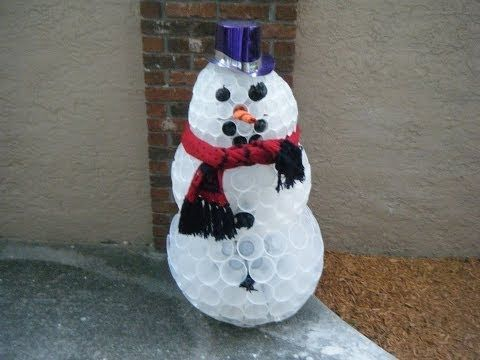 Pinterest for How to make a snowman