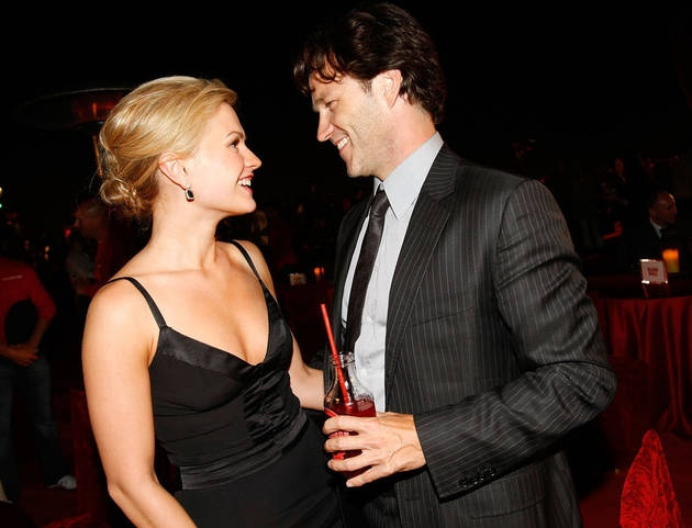 Anna Paquin and Stephen Moyer at the True Blood Season 1 After Party on Sept. 4, 2008