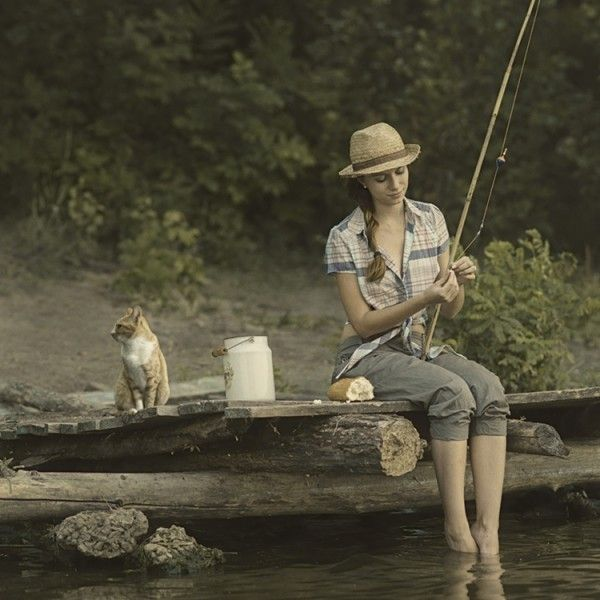 1000 ideas about women fishing on pinterest fishing for Trout fishing ponds near me