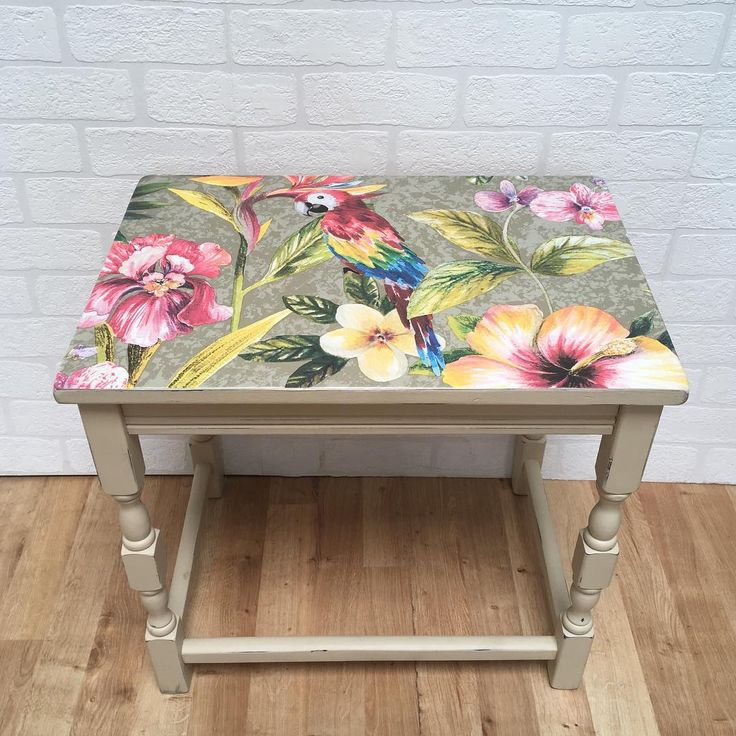 7 stylish decoupage furniture ideas for spring