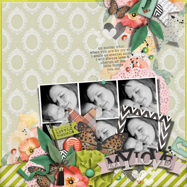 Its The Little Things Collection for digital scrapbooking by The Nifty Pixel