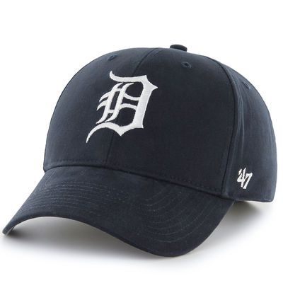 Detroit Tigers '47 Infant Basic Logo Adjustable Hat - Navy