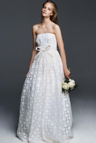 Vestidos de novia palabra de honor 2017: ¡El diseño más deseado! Image: 1