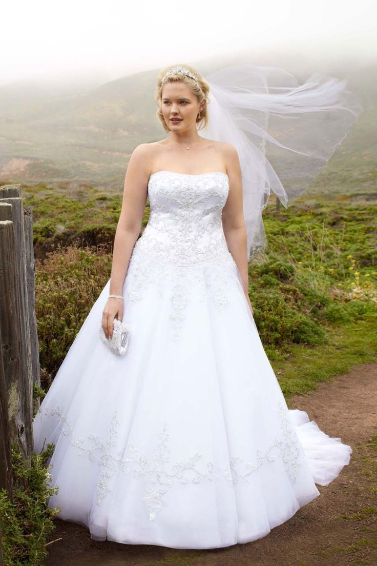 14 best Plus Size Wedding Gowns images on Pinterest ...