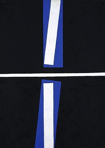 Gordon Walters. stripes striped lines lined