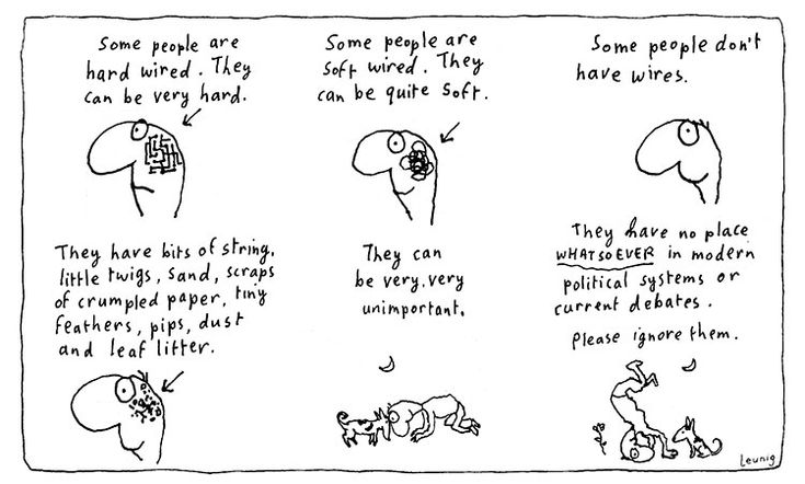 Hard Wired by Michael Leunig