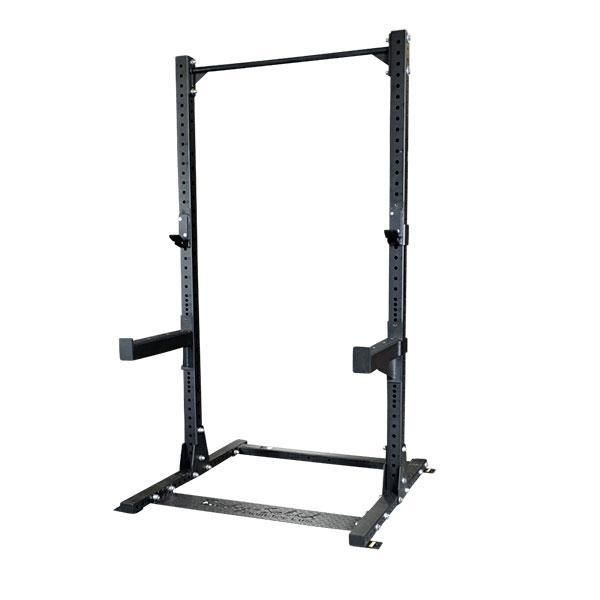 Body-Solid SPR500 Commercial Half Rack  SPR500 - The SPR500 is a full commercial half rack built for heavy weight training in any facility. Half Racks are great space savers providing a smaller footprint than most enclosed power racks