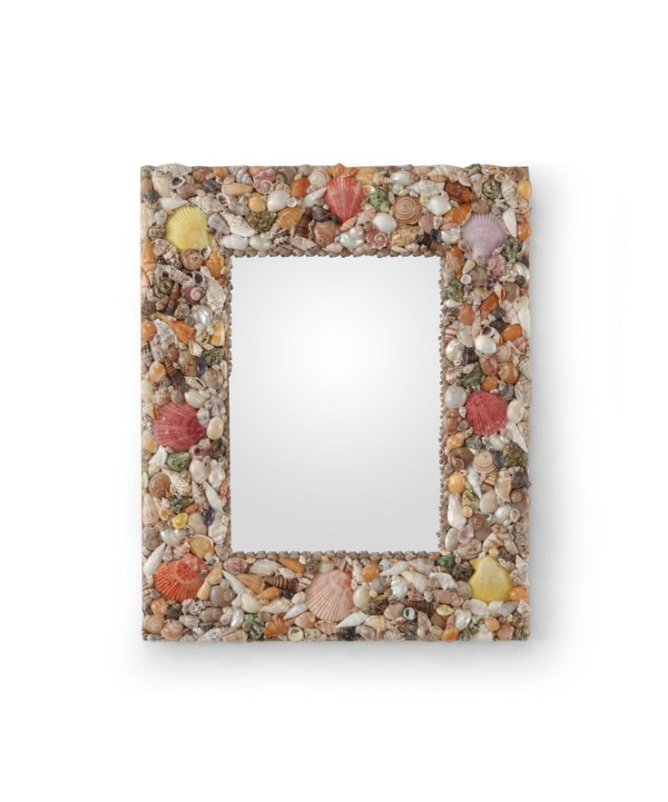 The Wildwood Shell Frame Mirror 292530 is a tropical wall mirror available in finish.The tropical style is sure to complement any bedroom, entry, dining room, hallway or bathroom.  $149.50 ◾Product Shape:  Rectangular ◾UL Listing:  Dry Locations Dimensions Height:   22.00 inches Width:   18.00 inches