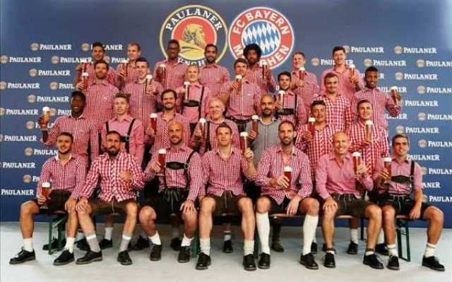 E' matrimonio ormai tra Bayern Monaco e Paulaner La società tirolese ha ufficializzato il prolungamento del contratto di sponsorizzazione con la Paulaner, affermata azienda produttrice di birra esportata in tutto il mondo. Il Bayern Monaco ha estes