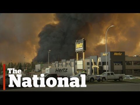 Fort McMurray evacuated during massive wildfire
