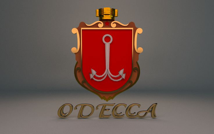 Coat of arm (Odessa, Ukraine)