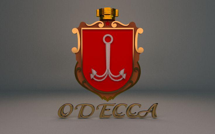 Coat of arm (Odessa, Ukraine)