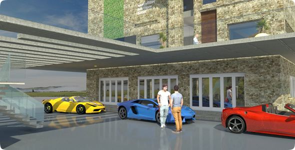 3D lifestyle models, customised to perfection