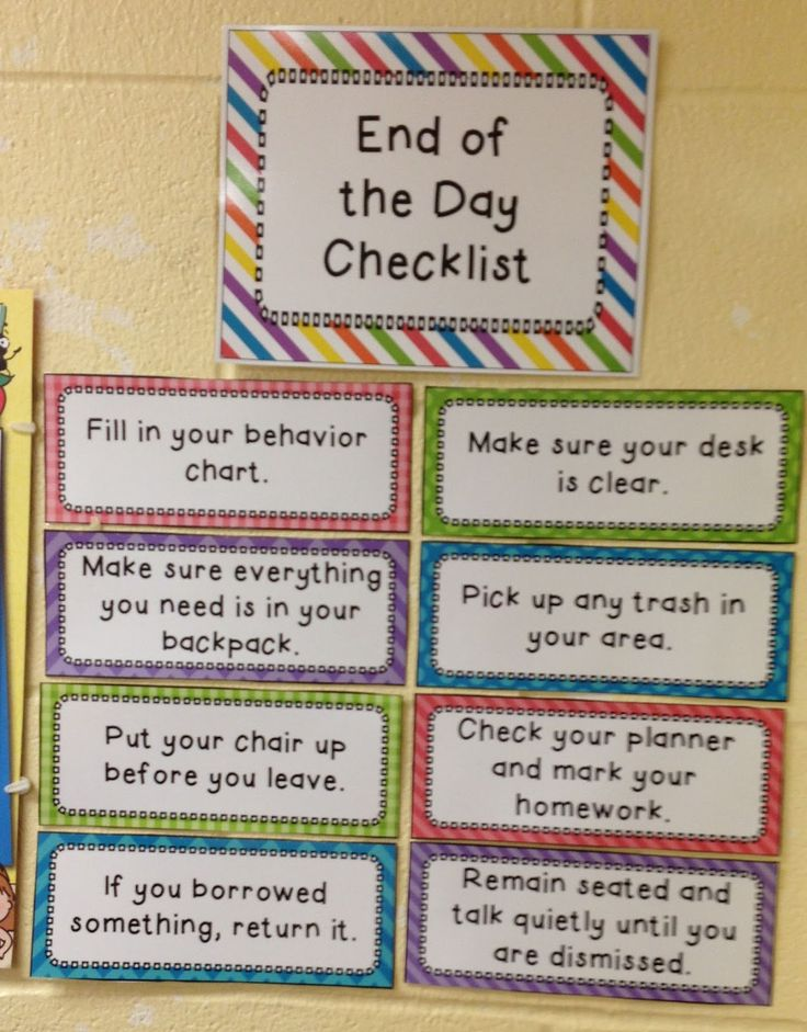 Elementary Classroom Procedures ~ Best classroom routines and procedures ideas on