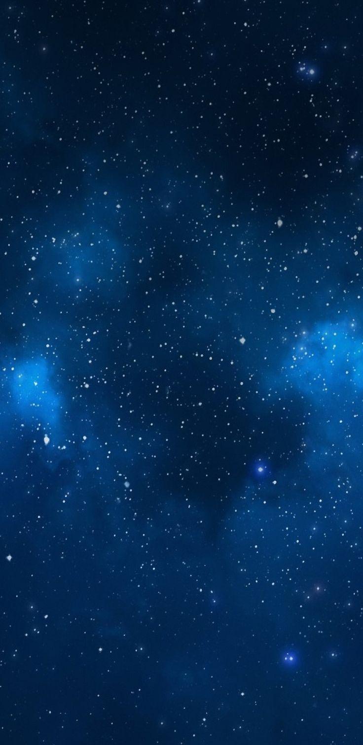 Dark, blue, wallpaper, galaxy, tranquil, beauty, nature, night, sky, stars, Samsung