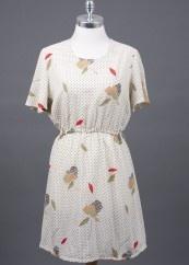 Original vintage cream dress