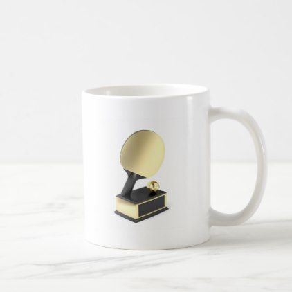 #Table tennis trophy coffee mug - #office #gifts #giftideas #business