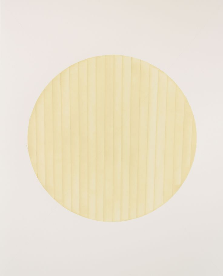 Tammi Campbell, from Circle Tape series (april 2012 B), 2012, acrylique sur carton musée, acrylic on museum board
