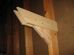 Armazenamento sobrecarga parede Lumber