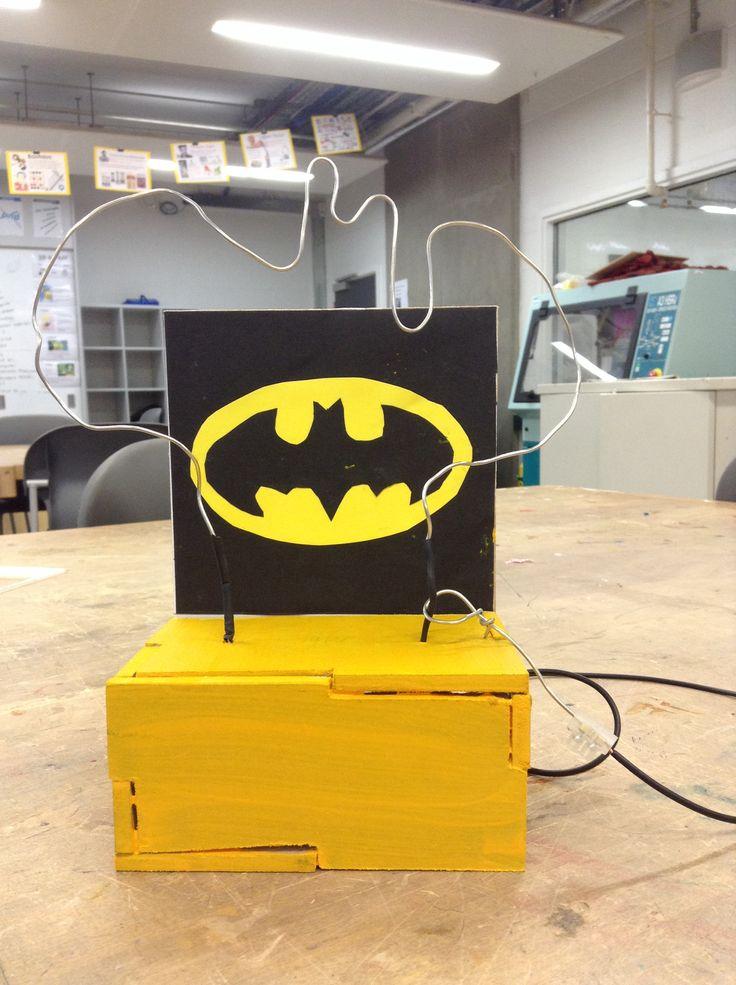Batman bat steady hand game