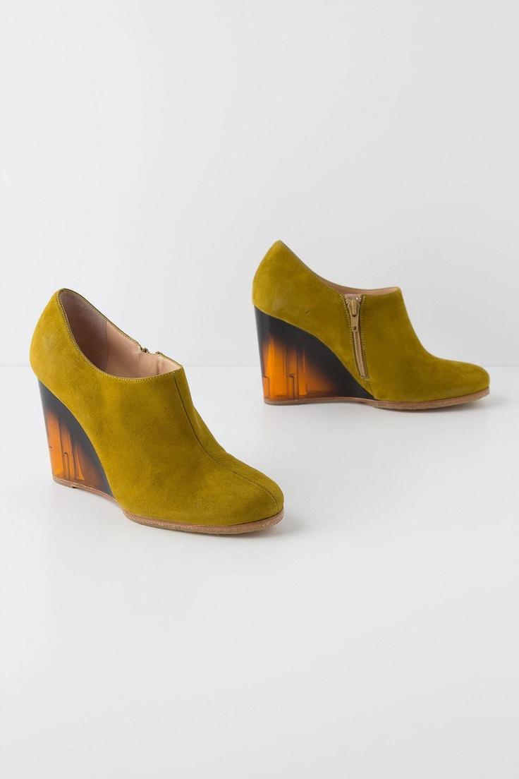 Acid Yellow Wedges - Anthropologie.comGreen Shoes, Rebecca Sanver, Anthro Acid, Wedges Anthropology, Yellow Wedges, Anthropologie Com, Shoesday Tuesday, Anthropology Offering, Acid Yellow