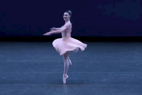catinthecradle:  passionatedancing:  vivaterpsichore:Tiler Peck in Tchaikovsky Pas de Deux.  fave  She's actually from Bakersfield.. And is the principal dancer at New York City Ballet..