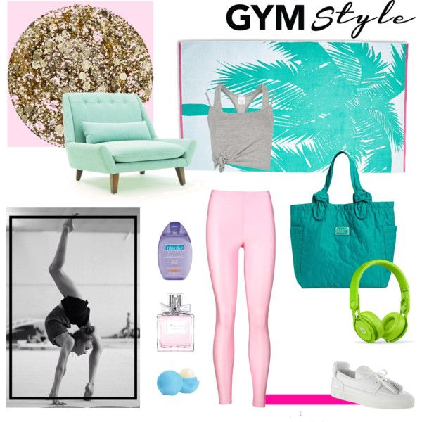 Gym style by pellachristinapapachristou on Polyvore featuring MARC BY MARC JACOBS, Beats by Dr. Dre, Christian Dior, Eos and Smith & Cult