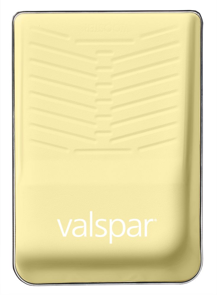 one of 12 valspar colors of the year airy luminous yellow available